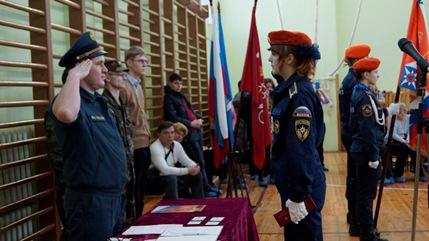 Сценарий принятия присяги кадетами